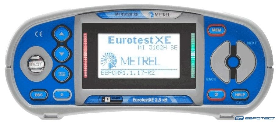 Измерители параметров электроустановок Eurotest